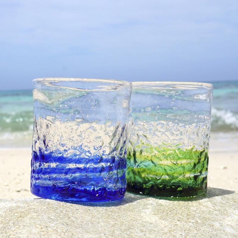 《送料無料》海色のデコグラス × 2個